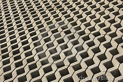 Abstract cement pavement
