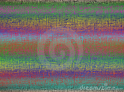 Abstract chaotic color grid background texture,