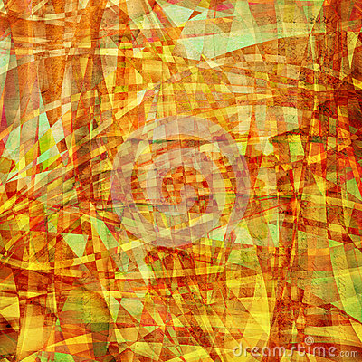 Abstract  chaotic pattern with colorful translucent curved