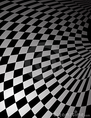 Abstract checker pattern background
