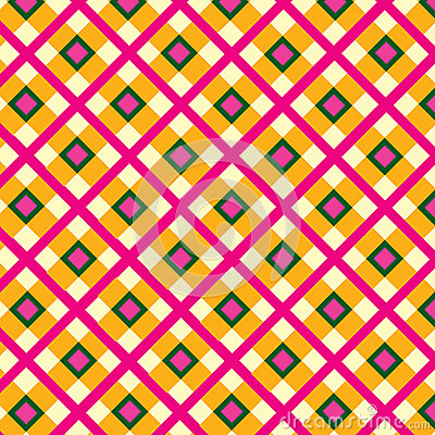Abstract Checkered fa seamless background