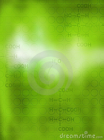 Abstract chemical background