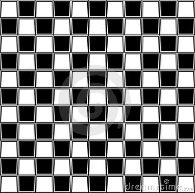 Abstract chessboard