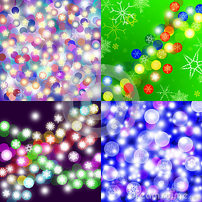 Abstract Christmas 4 backgrounds