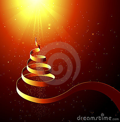 Free Abstract Christmas Background Royalty Free Stock Photo - 7118465