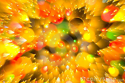 Abstract Christmas background bokeh lights color