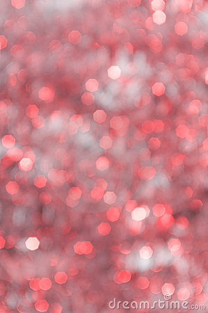 Abstract Christmas background, defocused lights