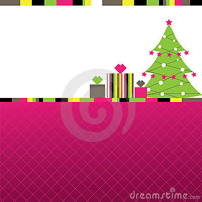 Abstract Christmas background.  illustration