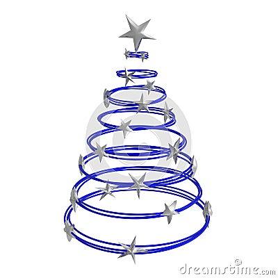 Free Abstract Christmas Tree Stock Photography - 5250392