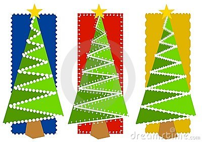 Abstract Christmas Tree Backgrounds 2