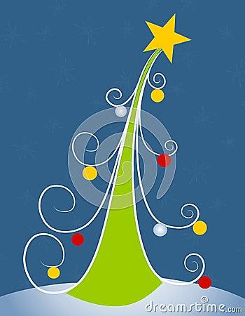 Abstract Christmas Tree Clip Art 2 Stock Photos - Image ...