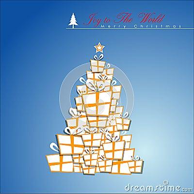 Abstract Christmas Tree.
