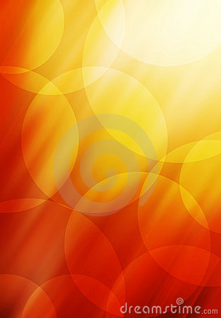 Abstract Circle background in red and orange tones