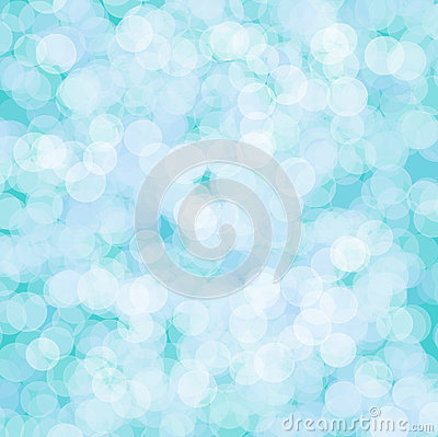 Abstract circle blue background