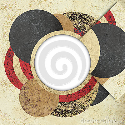 Free Abstract Circle Design Background Royalty Free Stock Photo - 28677665