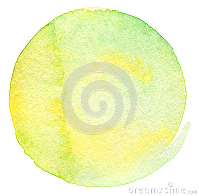 Free Abstract Circle Watercolor Painted Background Royalty Free Stock Photos - 32577708