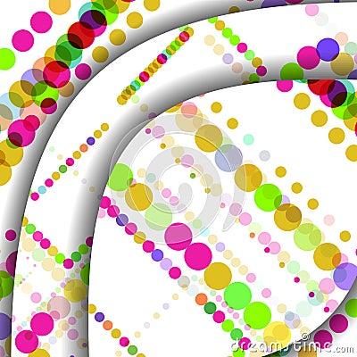 Abstract circles illustration