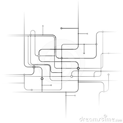 Abstract Circuit Background
