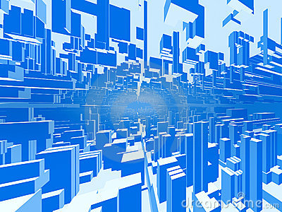 Abstract city background #2