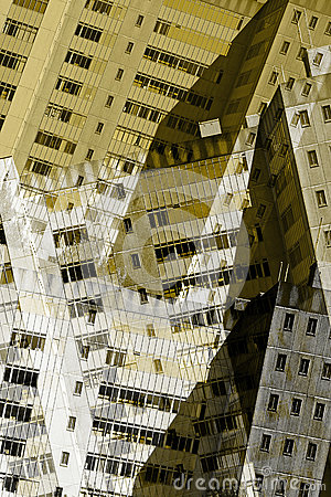 Free Abstract City Buildings Royalty Free Stock Photography - 32905607
