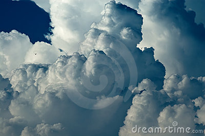 Abstract cloudscape background