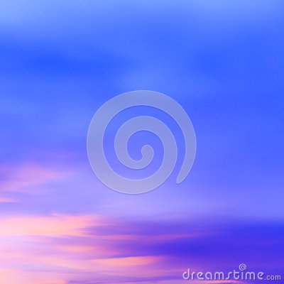 Free Abstract Cloudscape Of Sunset Blue Sky Background And Clouds In Stock Images - 119006954