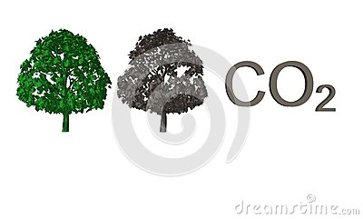 Abstract CO2 background