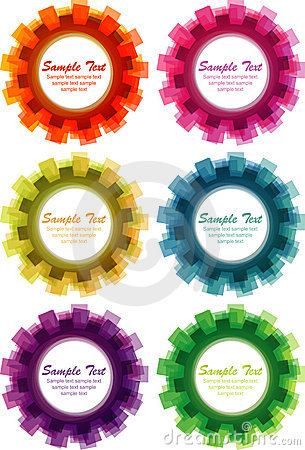 Abstract cogwheel background