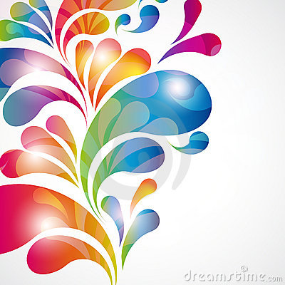 Free Abstract Color Background. Royalty Free Stock Photo - 19564275