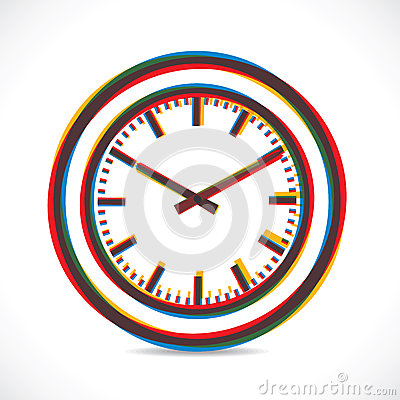 Abstract clock
