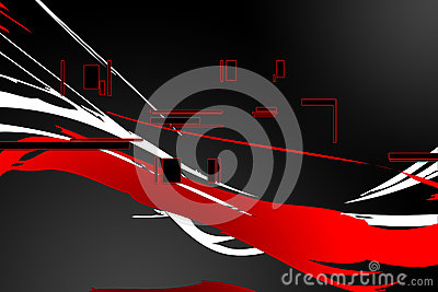 Abstract color design art
