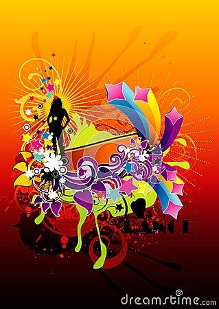 Abstract color fantasy