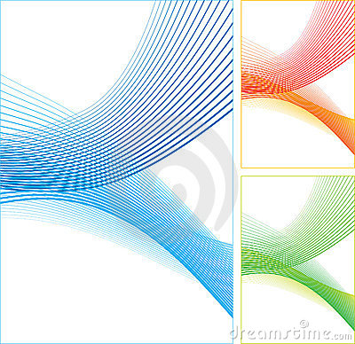 Abstract color lines.