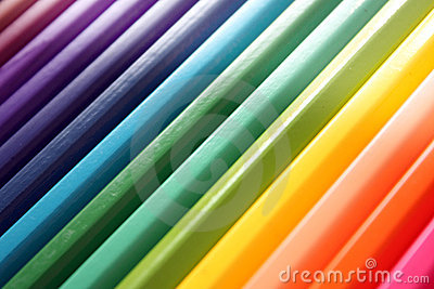 Abstract Color pencils