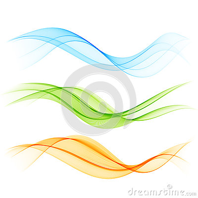 Free Abstract Color Wave Royalty Free Stock Images - 30467779