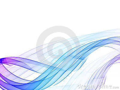 Abstract color wavy