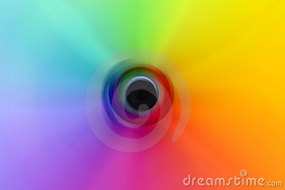 Abstract Color Wheel