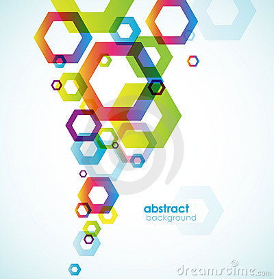 Free Abstract Colored Background With Circles. Stock Image - 14739021