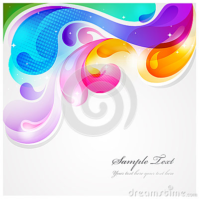 Free Abstract Colorful Background Stock Photography - 24712812