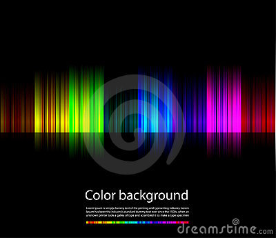 Abstract colorful background line