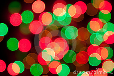Abstract colorful bokeh background - defocused pic