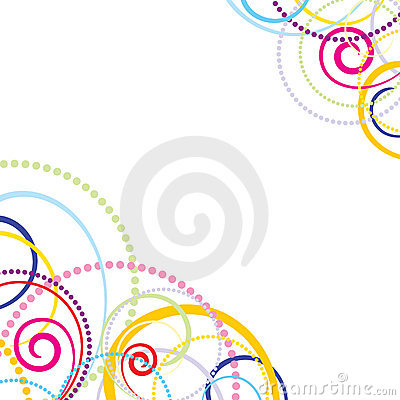 Abstract colorful celebration background.