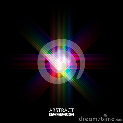 Abstract colorful dark pattern background