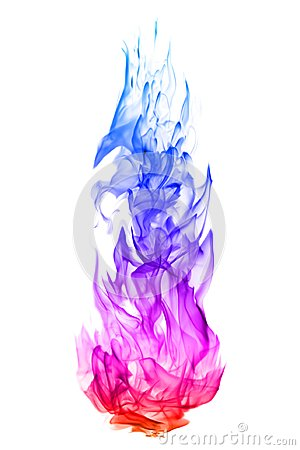 Free Abstract Colorful Flame Patterns On White Background Royalty Free Stock Photos - 104965598