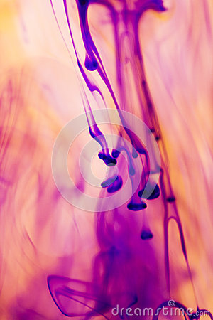 Free Abstract, Colorful Ink Shapes Royalty Free Stock Photography - 43149757