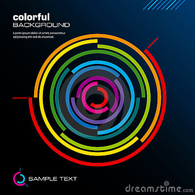 Free Abstract Colorful Layout. Vector. Royalty Free Stock Images - 11736369