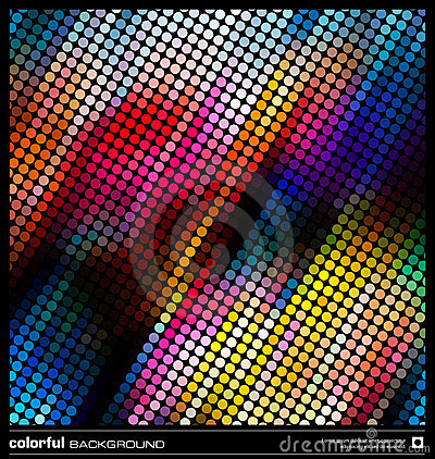 Abstract colorful mosaic background