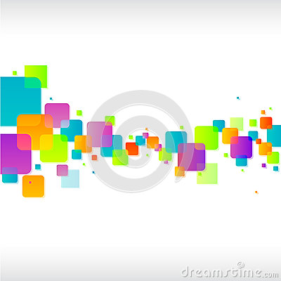 Free Abstract Colorful Square Background Stock Image - 29311791