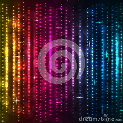 Abstract colorful vertical lights