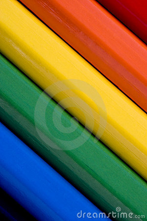 Free Abstract Colourful Background Of Coloured Pencils Stock Photos - 282933